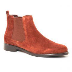 boots-chelsea marron: même style de chaussures en ligne pour femmes que les Carmela