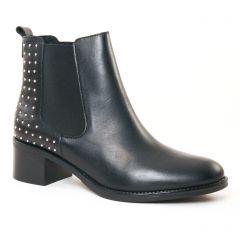 boots-chelsea noir clouté: même style de chaussures en ligne pour femmes que les Rieker