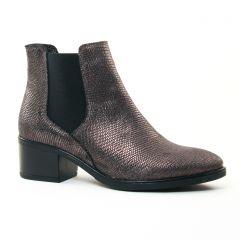 boots-chelsea noir doré: même style de chaussures en ligne pour femmes que les Scarlatine
