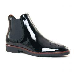 Chaussures femme hiver 2017 - boots élastiquées JB Martin noir