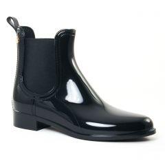 Chaussures femme hiver 2017 - boots élastiquées Lemon Jelly noir