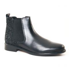 Chaussures femme hiver 2017 - boots élastiquées Scarlatine noir