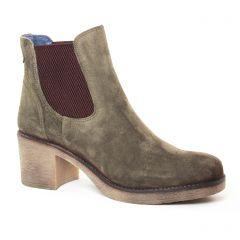 boots-chelsea vert: même style de chaussures en ligne pour femmes que les Pintodiblu By Costacosta