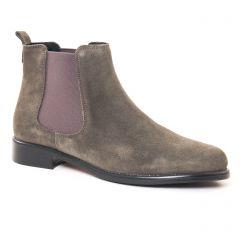 boots-chelsea gris vert: même style de chaussures en ligne pour femmes que les Tamaris