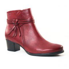 boots-jodhpur bordeaux: même style de chaussures en ligne pour femmes que les Mamzelle