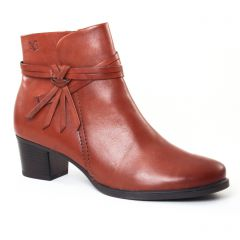Chaussures femme hiver 2017 - boots Jodhpur Caprice marron