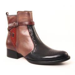 boots-jodhpur noir marron: même style de chaussures en ligne pour femmes que les Mamzelle