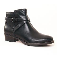 Chaussures femme hiver 2017 - boots Jodhpur tamaris noir