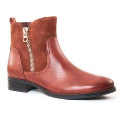 Chaussures femme hiver 2017 - boots confort Caprice marron