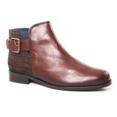 boots marron: même style de chaussures en ligne pour femmes que les Pintodiblu By Costacosta