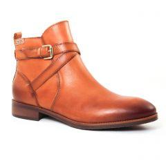Chaussures femme hiver 2017 - boots Jodhpur Pikolinos marron