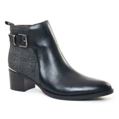 Jb Martin Elinor Noir : chaussures dans la même tendance femme (boots noir gris) et disponibles à la vente en ligne