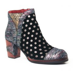 Chaussures femme hiver 2017 - boots Laura Vita noir
