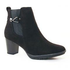 boots noir: même style de chaussures en ligne pour femmes que les Scarlatine