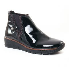Chaussures femme hiver 2017 - boots rieker noir