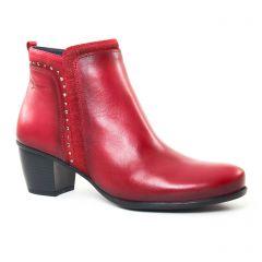 boots rouge: même style de chaussures en ligne pour femmes que les Pintodiblu By Costacosta