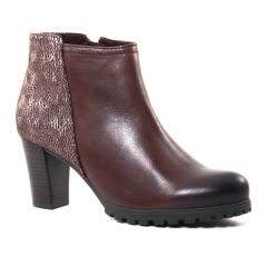 boots-talon marron: même style de chaussures en ligne pour femmes que les Mamzelle