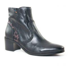 boots-talon noir: même style de chaussures en ligne pour femmes que les Caprice