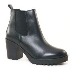 Chaussures femme hiver 2017 - boots talon Scarlatine noir