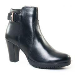 Chaussures femme hiver 2017 - boots talon tamaris noir