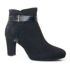 Tamaris 25370 Black : chaussures dans la même tendance femme (boots-talon noir) et disponibles à la vente en ligne