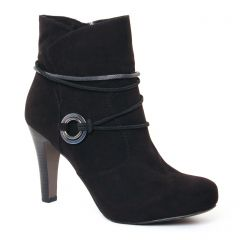 boots-talon noir: même style de chaussures en ligne pour femmes que les Scarlatine