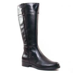 bottes-cavalieres noir: même style de chaussures en ligne pour femmes que les Pintodiblu