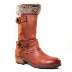 Tamaris 25062 Cognac : chaussures dans la même tendance femme (bottillons marron) et disponibles à la vente en ligne