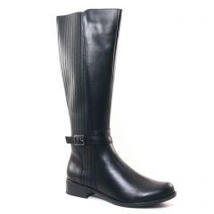 bottes-confort noir: même style de chaussures en ligne pour femmes que les Scarlatine