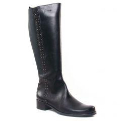 bottes-stretch noir: même style de chaussures en ligne pour femmes que les Tamaris