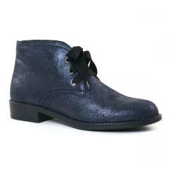 bottines-a-lacets bleu marine: même style de chaussures en ligne pour femmes que les Rieker