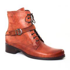 Chaussures femme hiver 2017 - bottines à lacets Dorking marron