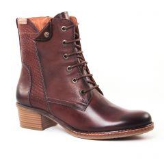 Chaussures femme hiver 2017 - bottines à lacets Pikolinos marron