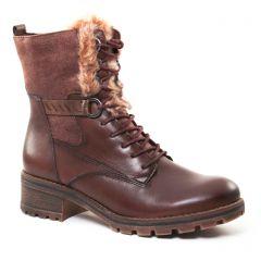 bottines-a-lacets marron: même style de chaussures en ligne pour femmes que les Mtng