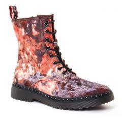 bottines-a-lacets multicolore: même style de chaussures en ligne pour femmes que les Tamaris