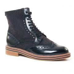 Marco Tozzi 25256 Black : chaussures dans la même tendance femme (bottines-a-lacets noir) et disponibles à la vente en ligne