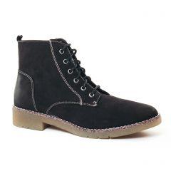 bottines-a-lacets noir: même style de chaussures en ligne pour femmes que les Caprice