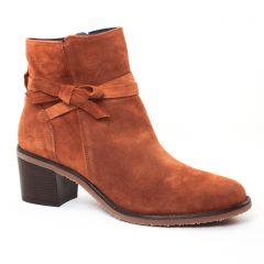 Chaussures femme hiver 2017 - bottines à talon Dorking marron