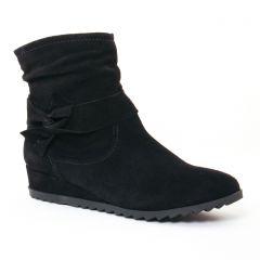 bottines-compensees noir: même style de chaussures en ligne pour femmes que les Les Tropéziennes