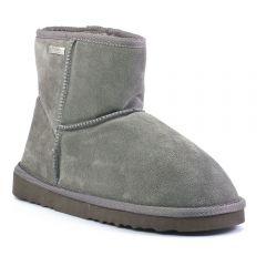 Chaussures femme hiver 2017 - bottines fourrées les tropéziennes gris