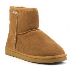 Chaussures femme hiver 2017 - bottines fourrées les tropéziennes marron
