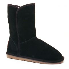 Chaussures femme hiver 2017 - bottines fourrées les tropéziennes noir