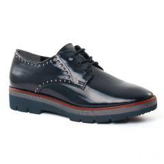 derbys bleu marine: même style de chaussures en ligne pour femmes que les Marco Tozzi