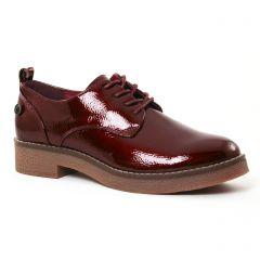 derbys bordeaux: même style de chaussures en ligne pour femmes que les Coolway