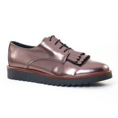 derbys gris argent: même style de chaussures en ligne pour femmes que les Carmela