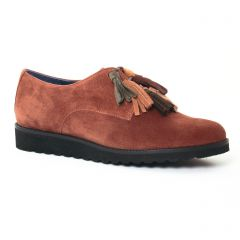 Chaussures femme hiver 2017 - derbys PintoDiBlu by CostaCosta marron