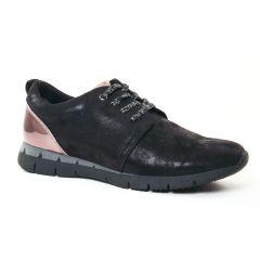 tennis noir argent: même style de chaussures en ligne pour femmes que les Marco Tozzi
