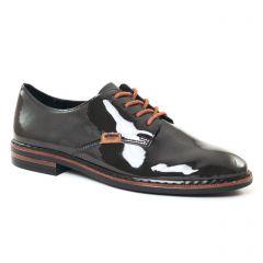 derbys noir gris: même style de chaussures en ligne pour femmes que les Marco Tozzi