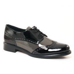 Chaussures femme hiver 2017 - derbys Scarlatine noir gris