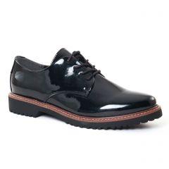 Chaussures femme hiver 2017 - derbys marco tozzi noir